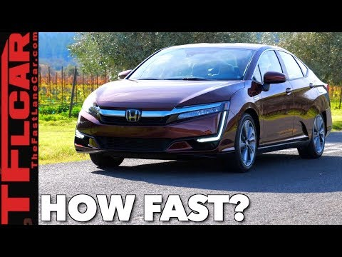 How Quick is the 2018 Honda Plug-in Hybrid/Fuel Cell/EV Clar