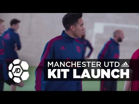 Manchester United and adidas Home Kit Launch