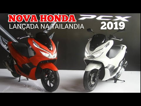 Nova Honda Pcx 150 2019 Renovada Youtube