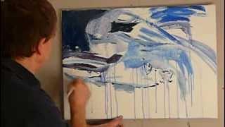 INTUICJA = POTĘGA KREACJI - ABSTRAKCJA 19 cz.1 maluje i opowiada Adam Razik