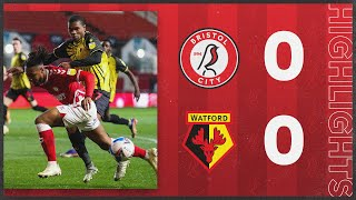 HIGHLIGHTS | Robins and Hornets play out entertaining draw | Bristol City 0-0 Watford