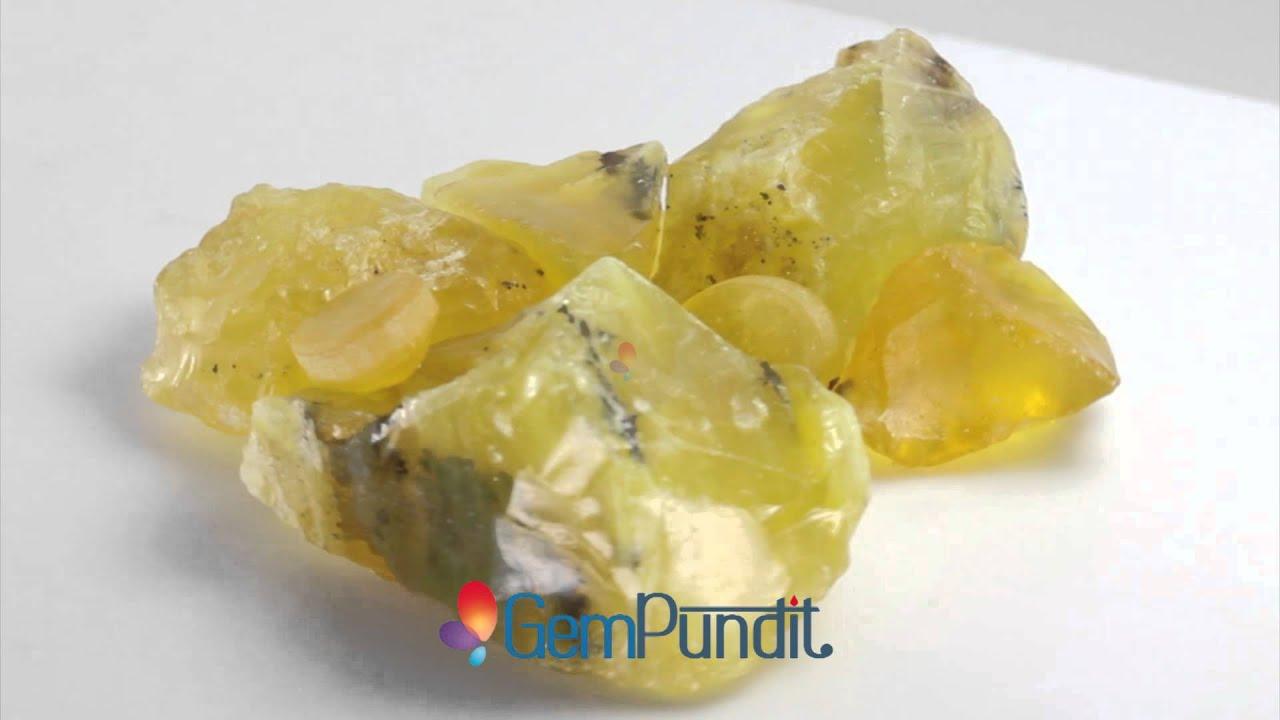 raw yellow topaz stone youtube