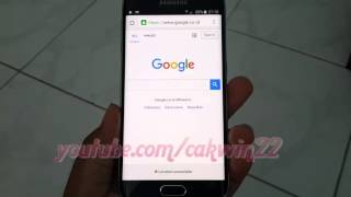 Google Chrome : How to Reset homepage in Samsung Galaxy S6