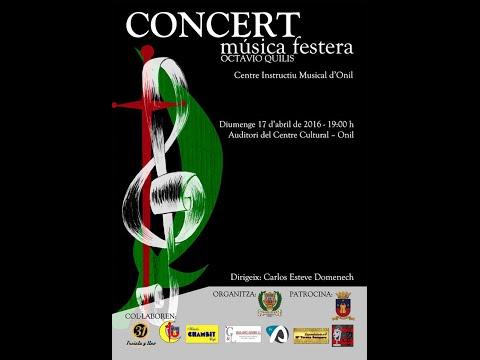 Concert de música festera Octavio Quilis 2016