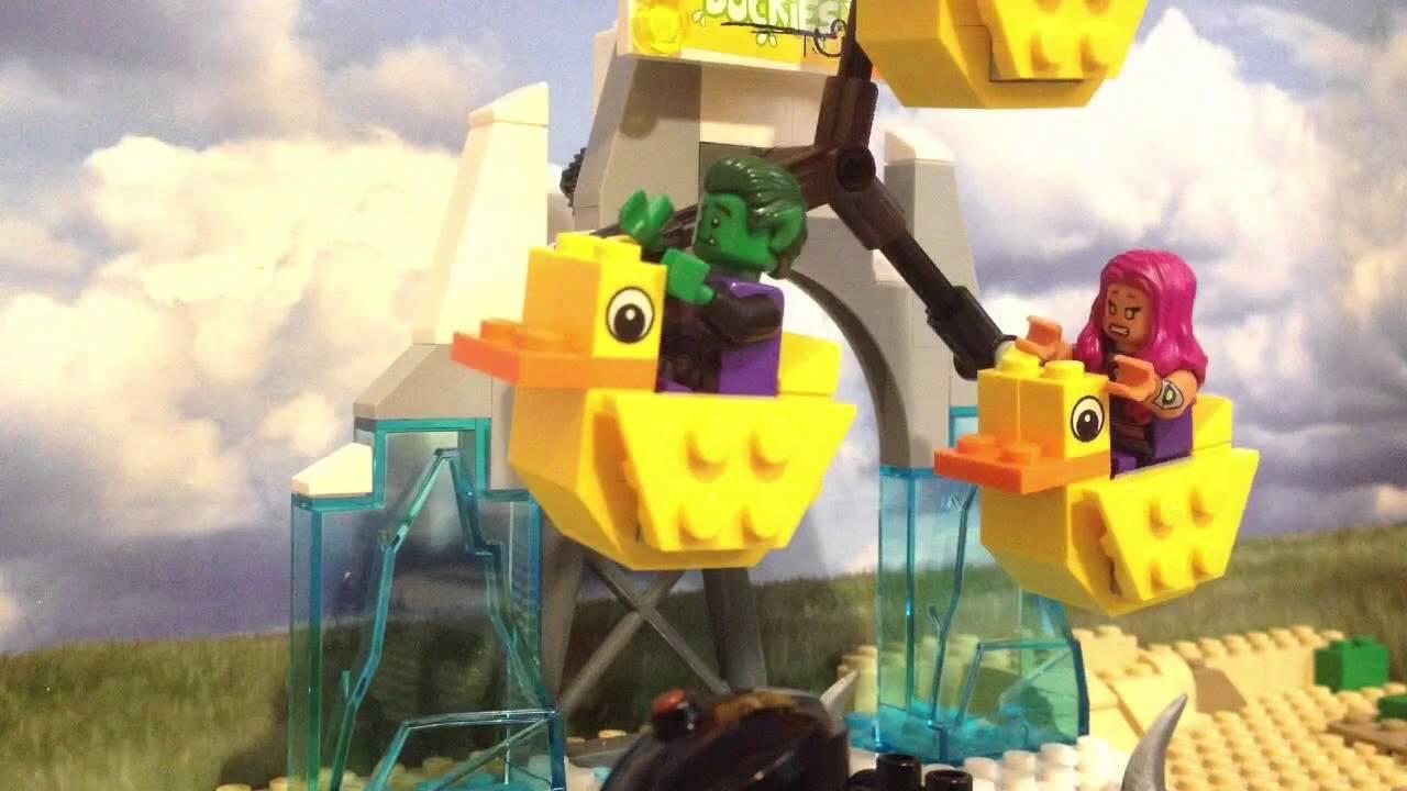 Lego teen titans at the fair youtube for Deko fa r teenager