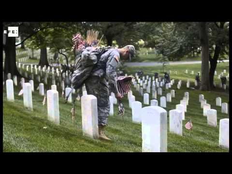 Memorial Day: cmo se honra a los cados en el cementerio de ...