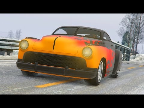 GTA 5 ONLINE NEW FREE ALBANY HERMES CHRISTMAS DLC CAR GAMEPLAY & CUSTOMIZATION! (GTA 5 Update)