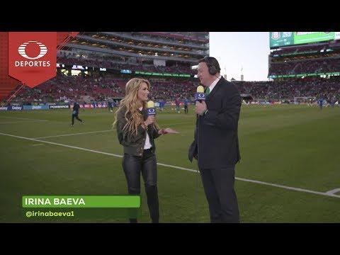 ¡Irina Baeva va #ConTodo a Rusia 2018!   Televisa Deportes