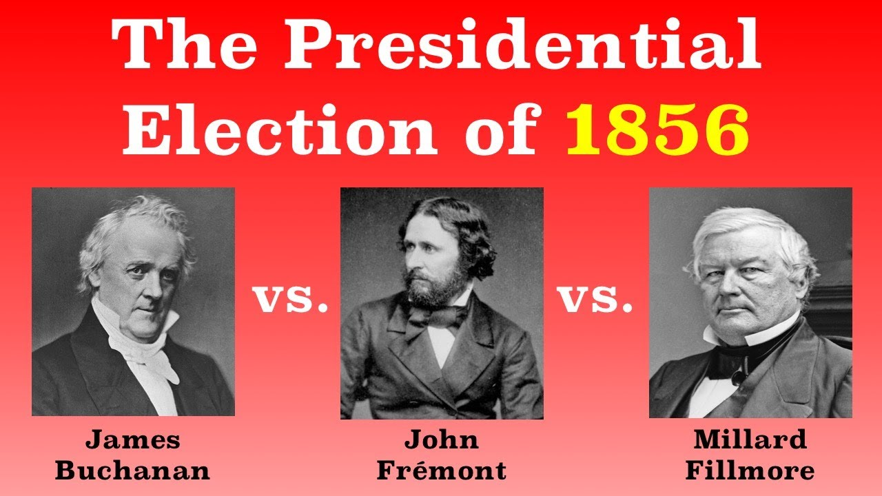 an overview of the contenders for the presidential election of 1856 in the united states Dividing the national map united states presidential election of 1860 contributed by john m mcclure the united states presidential election of 1860 was perhaps the most pivotal in american history.