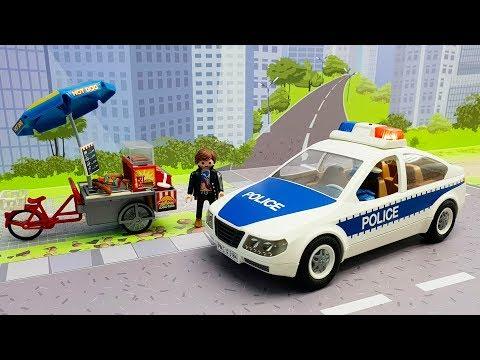 Мультики для детей про машинки - Злой овощ! Как полицейская машинка навела справедливость.