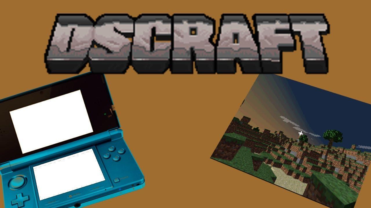 Minecraft Auf Dem Nintendo DS Spielen DSCraft DeutschEnglish - Minecraft legal spielen