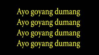 Cita Citata Goyang Dumang With Lyrics
