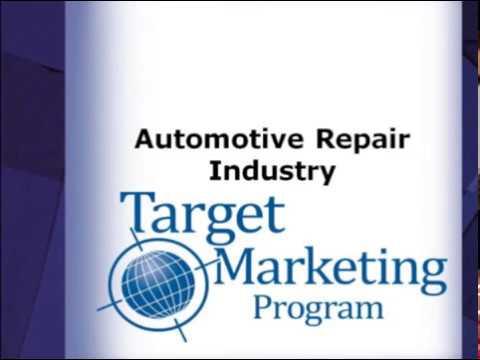 Auto Repair Target Marketing Program Webinar by Jay Groot