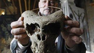 Nazistowskie stowarzyszenie Ahnenerbe pozostawiło posobie naKaukazie czaszki dziwnych stworów