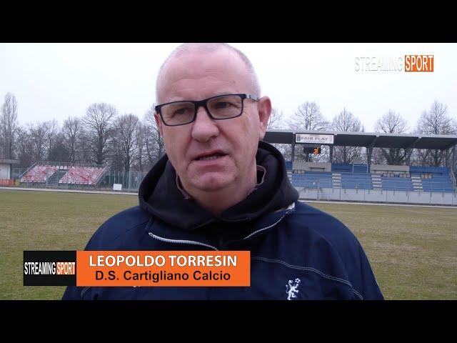 Microfono A..... Leopoldo Torresin D.S: Cartigliano Calcio