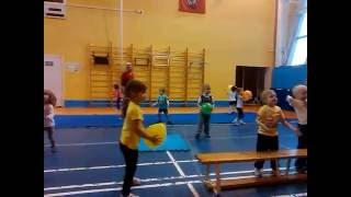 Детский фитнес видео. Открытый урок(Место съемки: Москва, ФОК