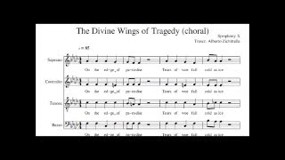 Symphony X - The divine wings of tragedy - Choral + music sheet