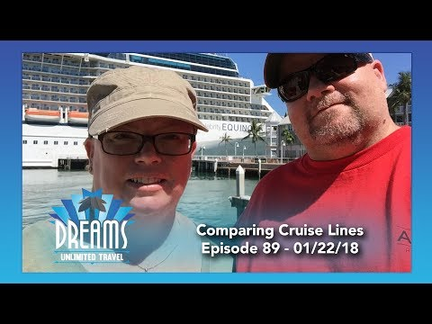 Comparing Disney Cruise Line, Royal Caribbean, and Celebrity | 01/22/18