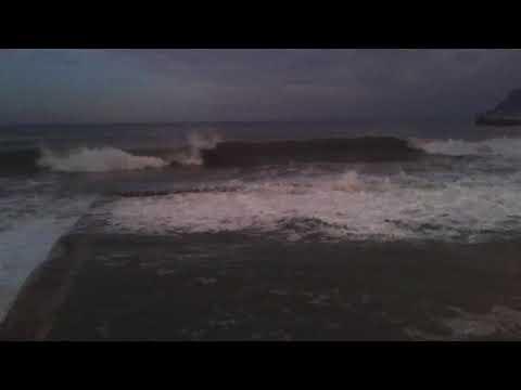 High waves at Kalkbay Cape Town