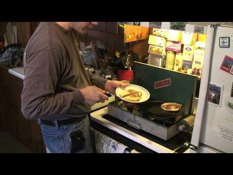Coleman Challenge - Week 48 - Cornmeal Pancakes