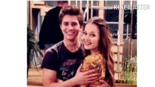 Kelli Berglund and Billy Unger ( Bree and Chase)