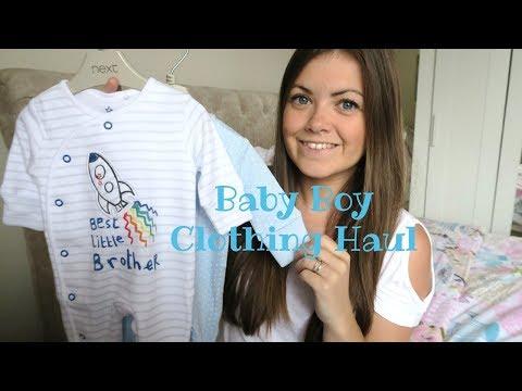 BABY BOY CLOTHING HAUL - NEXT & PRIMARK