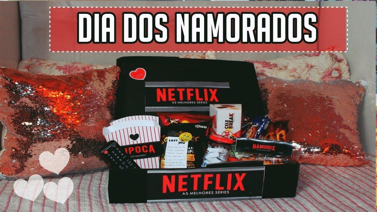 DIY DIA DOS NAMORADOS KIT NETFLIX