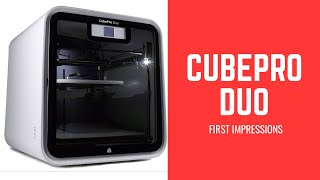 Review Of CubePro Duo 2018