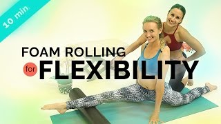 Foam Rolling Exercises | Yoga Splits Preparation Routine  w/ Jen Esquer (10-min)
