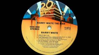 Barry White - Your Sweetness Is My Weakness (20th Century Records 1978)