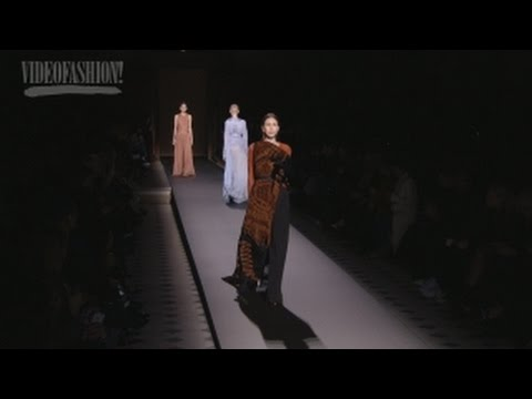 Vionnet - Fall 2016 - Paris Fashion Week - Videofashion Collections