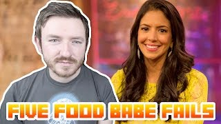 5 Chemistry Fails by the Food Babe (Guest Vid by Myles Power)