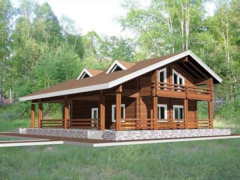 Строим дачный дом из бруса