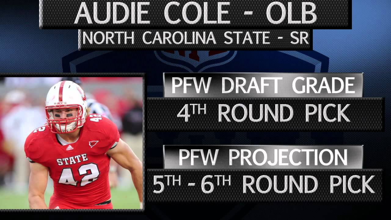 North Carolina State Lb Audie Cole Draft Profile Youtube