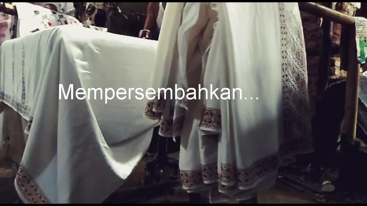 Proses Pembuatan Sarung Batik Cap Trq Pekalongan 2018 Youtube