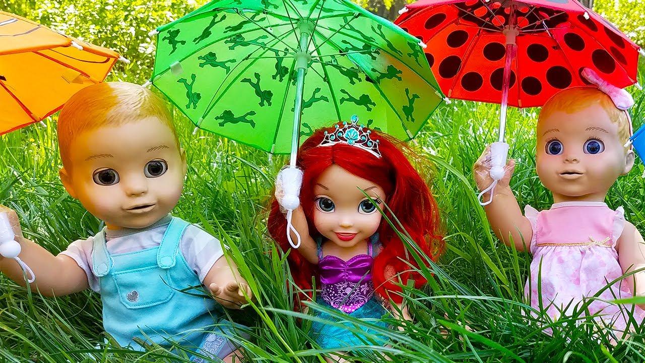 Rain Rain go away детская песенка от Алекса и Насти