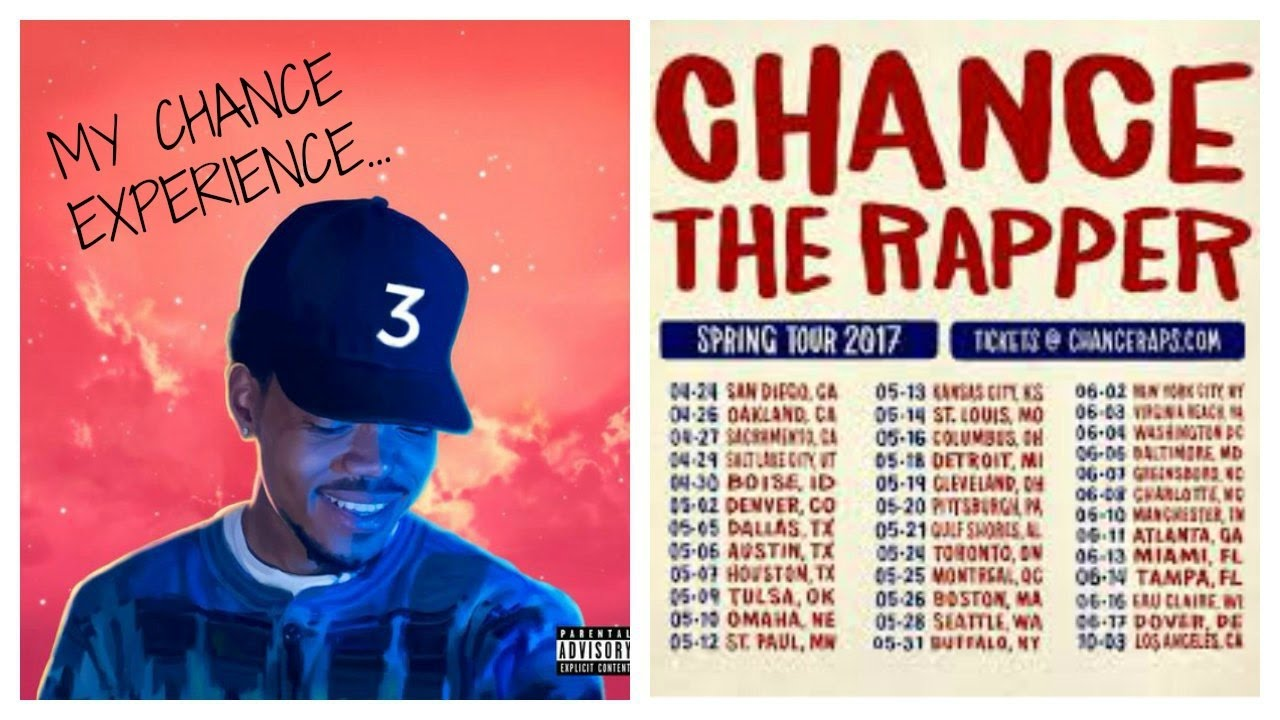 The coloring book tour opener - Chance The Rapper The Coloring Book Tour My Lit Experience