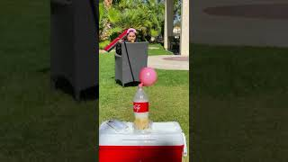 Coke and Mentos Explosion! #shorts