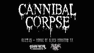 "Cannibal Corpse ""Icepick Lobotomy"" LIVE 01.29.15"