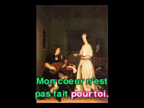 Amour, que veux-tu de moi?. De: Jean Baptiste Lully