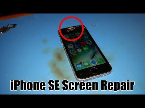 iPhone SE Screen Repair at Hotshot Repair in Columbia MO
