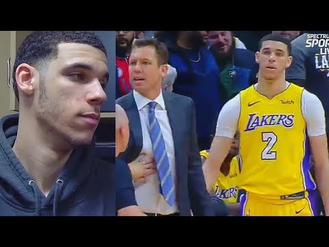 Lonzo Ball Calls Out Jamal Murray After Heated Exchange with Luke Walton