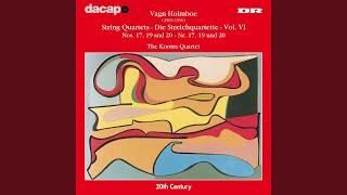 "String Quartet No. 20, Op. 160, ""Notturno"": III. Andante tranquillo"