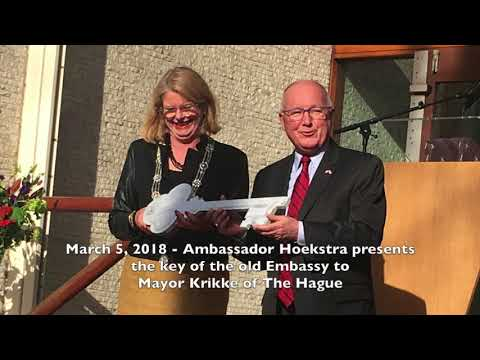 April 19, 2018 - Ambassador Hoekstra's first 100 days in the Netherlands