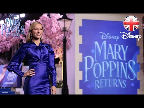 MARY POPPINS RETURNS | European Premiere at London's Royal Albert Hall | Official Disney UK