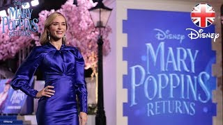 MARY POPPINS RETURNS | European Premiere at London
