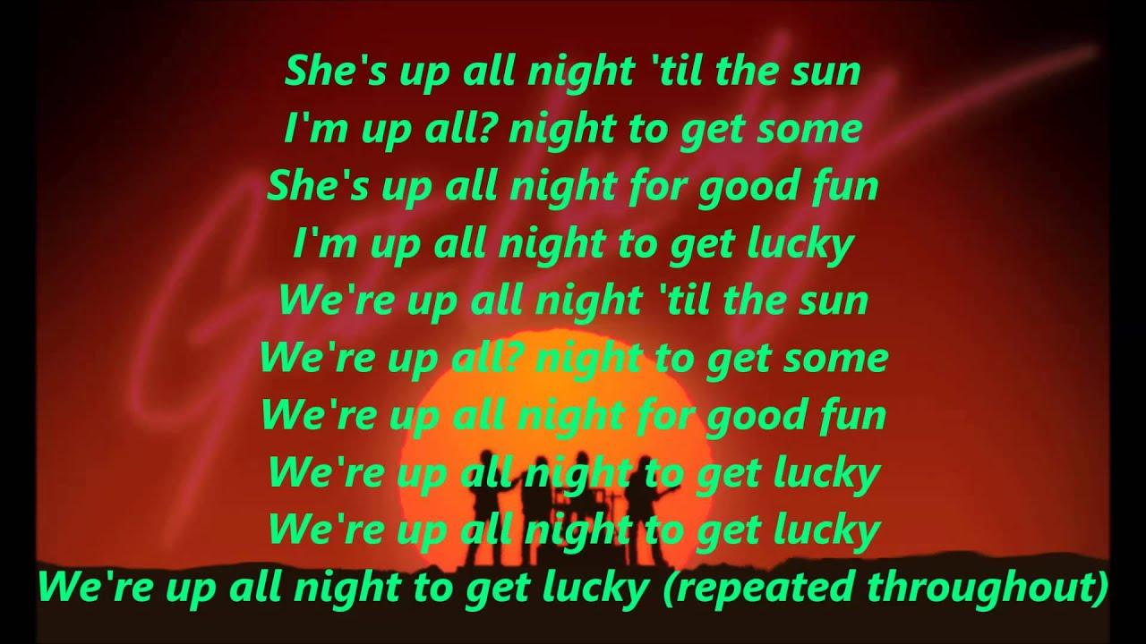 Uncategorized Get Lucky Lyrics daft punk feat pharrell williams get lucky lyrics youtube lyrics