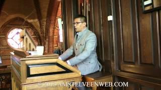 2013 Peter Overdijk speelt op het Adema orgel in Nes aan de Amstel