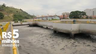 Um ano de concessão de esgotamento sanitário em Arraial