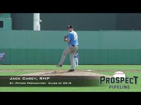 Jack Carey, RHP, St Peters Preparatory School, Pitching  Mechanics at 200 FPS
